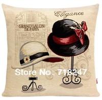 Free Shipping New Designer Fashion High Quality Decorative Jacquard Retro Cushion Covers Unique Novelty  Throw Pillow Case