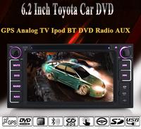 TOYOTA VIOS/TUNDRA/HIGHLANDER/CELICA/TOYOTA MR2/TOYOTA 4RUNNER Car DVD Player,Analog TV,IPOD,GPS Navigation