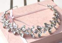 Vintage Bride Hair Accessory Wedding Rhinestone Hair Accessory Head Jewelry Headband