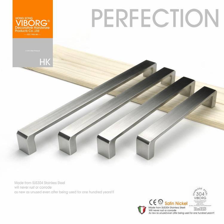 Handgrepen Keuken 128Mm : Modern Stainless Steel Kitchen Cabinet Drawer Pulls