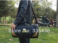 2013 FASHION,High Quality Mountain tourism Waterproof nylon Barrel Big BRAND designer travel bag,Free Shipping,LYD23