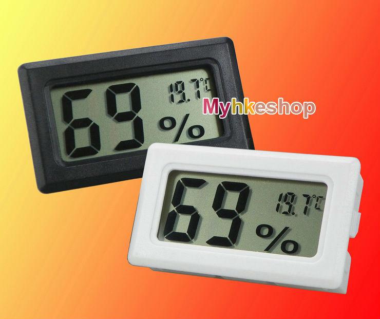 Digital LCD Hygrometer Temperature Humidity Meter Thermometer -50~70C 10%~99%RH(China (Mainland))