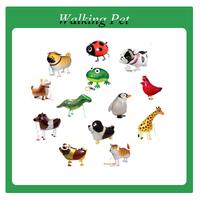 Free shipping  walking pet balloon mix order 90pcs/lot baby's gift &toys
