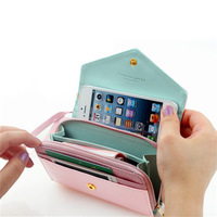 Designer  crwon decoration Clutch Purse wristlet evening bag Chain Bags wallet fashion wallets with smart phone case