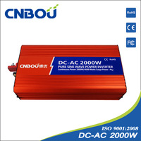 2000W input 24V pure sine wave power inverter/home solar inverter/car inverter