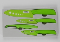 "3""+ 4""+ 6""+Peeler Ultra Sharp Kitchen Ceramic Knife Set Cutlery Straight cvb"