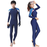 Integrated protective clothing  new high-end piece etsuit wetsuit sunscreen snorkeling snorkeling jellyfish clothing Naval Air