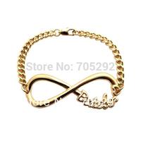 Fashion New Infinity Belieber Link Chain Bracelet