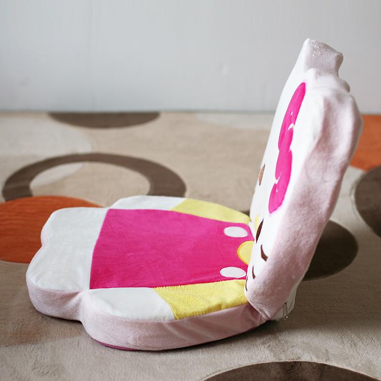 EASY portable children cute cartoon folding chairs tatami sofa legless fold