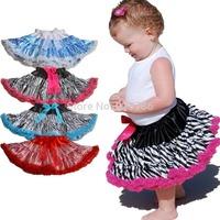 wholesale tutu Children's Clothing baby girl zebra tutu skirt girls tutus baby pettiskirt skirt for girls tutus girls skirts 10