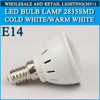 10pcs/lot LED bulb lamp High brightness lights E14 4W 5W 2835SMD Cold white/warm white AC220V 230V 240V Free shipping