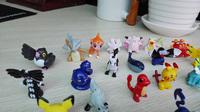 Gift 24pcs Different Styles Pokemon Bag Monster Mini Figures Random Pearl Christmas Present For Children Free shipping
