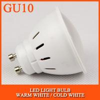 High brightness LED Bulb Lamp GU10 2835SMD 4W 5W AC220V 230V 240V Cold white/warm white Free shipping