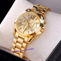 Casual Watch watches women fashion luxury watch brand gold ladies stainless steel Dress Watches quartz relogios feminino rose