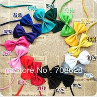 500PC/Lot Multicolors Pet Dog Adjustable Bow Ties Dog Cat Ties Collars Cat Ties Grooming Supplies Free Shipping