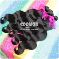 "3PCS/lot Queen Hair Product Peruvian Virgin Hair Weave Body Wave 12""-28"" Virgin Human Hair, Fast Shipping By DHL"