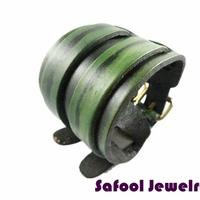 VB061(Min.Order $15)Wholesale 2014 Men Women Bracelets Punk Style Vintage Leather Bracelet Wide Bracelet Gifts High Quality