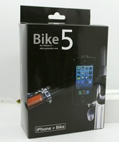 Promotion!  Motorbike Handbar phone holder with  Waterproof 360 degree Rotation for iPhone 5