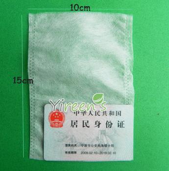 Free shipping! 100pcs 100 X150mm Non-woven Fabric tea filters, Heat  sealing Empty tea bag,  plant powder, milk powder bag