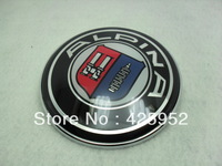 Car badge ALPINA Logo Front Hood Emblem Roundel For BMW 5 Series   82MM