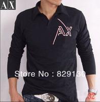 Free Shipping Designer Brands GgGS autumn fashio men's long sleeve  shirt men turn-down collar  leisure T-shirt