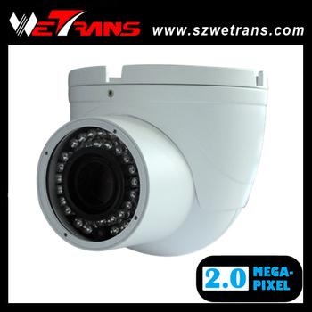 Wetrans TR-CIPD134 metal IR dome camera, 4-9mm varifocal lens, 2 megapixel IP camera