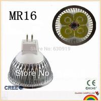 1 pcs High power LED Dimmable MR16 4x3W 12W Lamp/spotlight