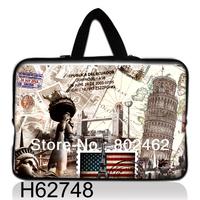 handbag notebook sleeve laptop bag  with hidden handle  neoprene 17 inch  15.6  14 14.1 13 13.6 12 10.1