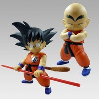 Free posting New Dragon Ball Monkey King Hand DO Toys Son Goku / Kuririn  Model Toys (20cm)  Two PCS of A SET Gift For Children