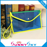 Chain envelope bag candy color small bags shoulder bags handbag cross body for women 2013 PVC clear bag