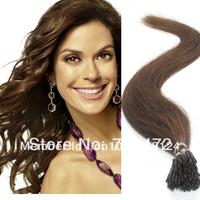 "18"" 20"" 22"" #8 Ash Brown Super Quality 0.5g/s 100s 50g Pre bonded I Tip  Hair Extensions 100% Human Hair No Shedding No Tangle"