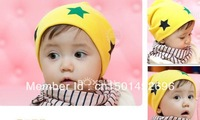 new style 2pcs/lot  12 kinds of Cute Pattern styles fashion baby hat baby headwear infant cap headdress free shipping