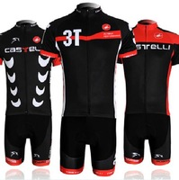 2014 new hot short sleeve cycling jersey Castelli outdoor sweat suit male and female cycling clothing HW004 Free Delivery