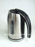 1.7L Stainless steel Electric Kettle,open handle design and good quality,CE,GS,RoHS and LFBG approved