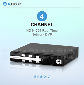 4ch stand alone DVR with 4ch real time d1 recording and playback, internet / Mobile Phone View, Free DNNS, and CMS