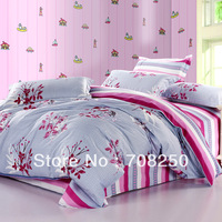 Free shipping! Bond counters authentic cotton textile Family of four bedding set full size duvet covers / bed sheet / Pillowcase