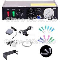 Glue Dropper AT-982A Auto Glue Dispenser Solder Paste Liquid Controller Dropper Precision Automatic for SMD PCB
