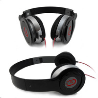 For DJ PSP MP3 MP4 PC New Black Earphone High Quality Stereo Headphones Headset hot sale Free Shipping