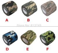 30PCS camo military tactical camouflage tape, Telescopic Kombat Army Camo cohesive bandage 5cm x 4.5m