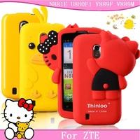 For zte n881e mobile phone case for zte u880f1 v889f protective case for zte n880f v889m protective case silica gel set soft