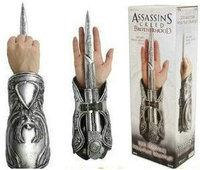 2013 Hot selling New Assassin Creed NECA Assassin's Creed Hidden Blade Brotherhood Ezio Auditore Gauntlet Replica Cosplay