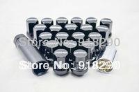17 Hex Nut & Lock Set Rays Wheel Lock Nuts 5H Black Wheel Nuts M12 X 1.5 $12*1.25 Wheel  Racing Lug Nut Leghnt:33MM