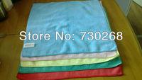 Free Shipping Wholesale 10 pcs Car Microfiber Magic Towel Kitchen Cleaning Cloth 40x40cm Dust Rag Quick Dry