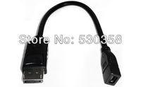 DP DisplayPort  - Mini dp 0.3m  DP male  to Mini dp displayport Female adapter Cable FREE SHIPPING