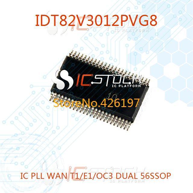IDT82V3012PVG8 IC PLL WAN T1/E1/OC3 DUAL 56SSOP 3012 IDT82V3012 1pcs(China (Mainland))