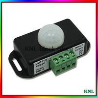 PIR Sensor Controller Human body induction switch, infrared led controler for Lighting Light, DC12V-24V, free shipping
