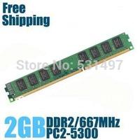Brand New Sealed DDR2 667 / PC2 5300 2GB  Desktop RAM Memory / Lifetime warranty / Free Shipping!!!
