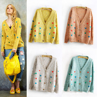 2012 New Korean autumn and winter clothes, maternity casual cardigan knitwear maternity sweater