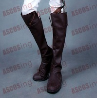 Attack on Titan Shingeki no Kyojin Eren Jaeger Cosplay Shoes boots