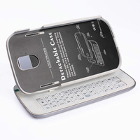Detachable Backlight Bluetooth Keyboard Case for Samsung Galaxy S4 S IV i9500